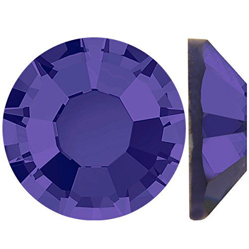 Flat Back Crystal Purple Velvet (Alora Austrian Flat Back Rhinestones ss20 (Approx 4.7mm) Purple Velvet - 144pcs Pack)