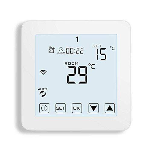WiFi Thermostat, Programmable Touchscreen Smart Thermostat, Compatible with Alexa