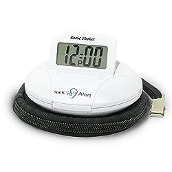 Alarm Clock, Sonic Alert Sbp100 Digital Home Bedside Small Loud Alarm Clock
