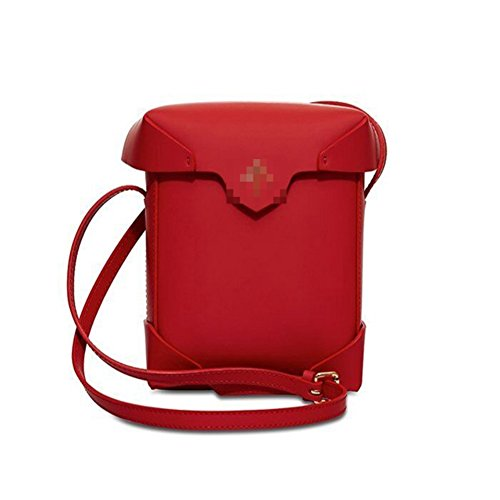Phoenix Costume Rental (HIFISH HB125051C2 PU Leather Women's Handbag,Vertical Section Square Small Square Package)