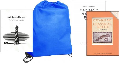 UPC 852668805141, Homeschool Kit in a Bag - Vocabulary from Classical Roots Grade 4 w/ Answer Key