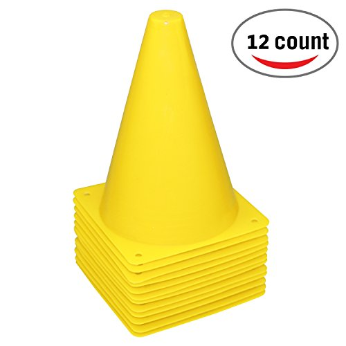 mini yellow cones - 5