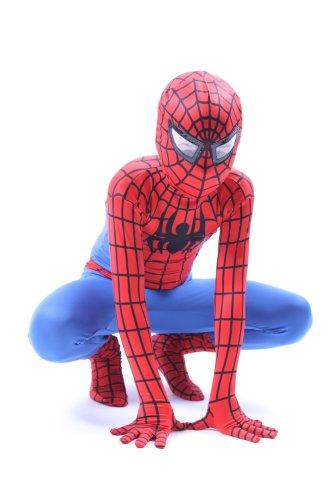Luxus Kids & Erwachsene Super Hero Spinne (Rot & Blau)