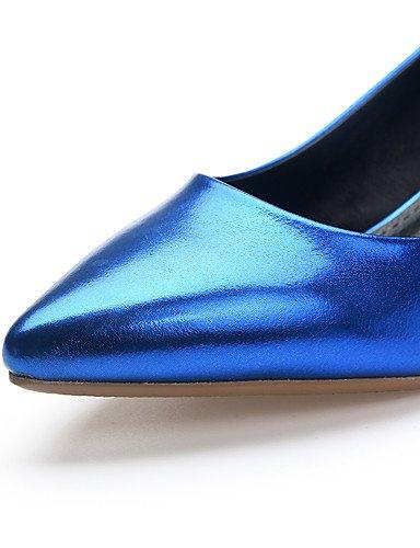 GGX/ Damen-High Heels-Büro / Lässig-Vlies-Kitten Heel-Absatz-Absätze / Komfort / Spitzschuh-Blau / Rosa / Silber pink-us9 / eu40 / uk7 / cn41