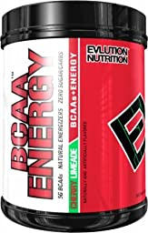 Evlution Nutrition BCAA Energy - Energizing Amino Acid for Muscle Building, Recovery, and Endurance, 70 Servings, Cherry Limeade