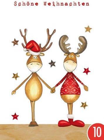 Pack de 10: Postal A6 + + + Navidad de Modern Times + + + Bella ...