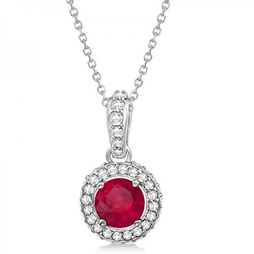 0.25 Ct Ruby Pendant - 2