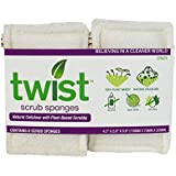 Twist Scrub Sponges, 6 Count (Pack of 1)
