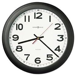Howard Miller - Norcross Auto Daylight-Savings Wall Clock 15-3/4 Black 1 Aa Product Category: Office Furniture/Clocks