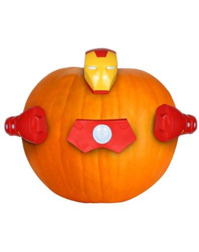 Marvel Pumpkin Push-Ins, Iron Man]()