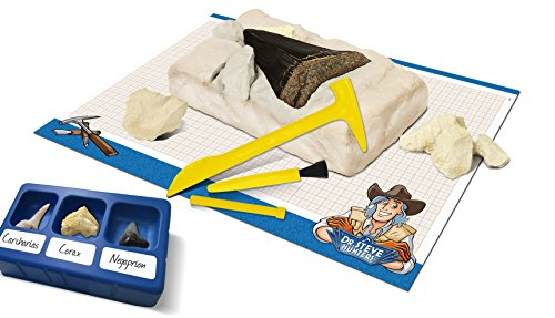 Geoworld Dig & Discover Fossil Shark Tooth Science Kit
