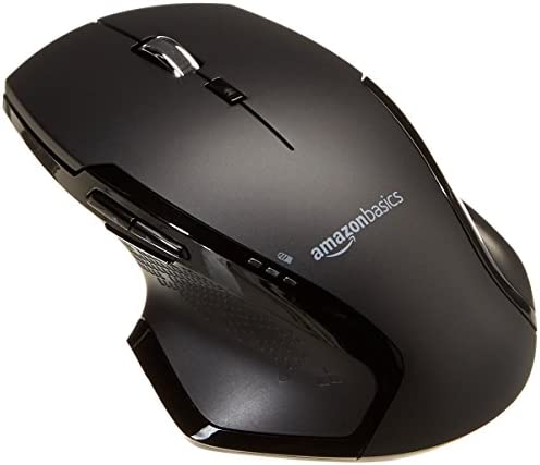 AmazonBasics Full Size Ergonomic Wireless Scrolling product image