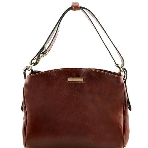Tuscany Leather Sara - Bolso en piel - TL141474 (Marrón) Marrón