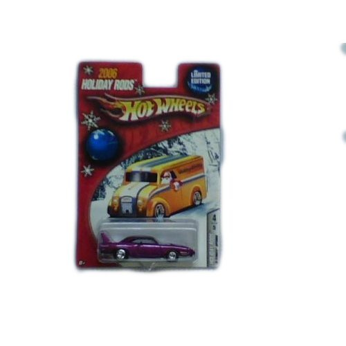 Plymouth Hot Rod - Hot Wheels 2006 Holiday Rods Limited Edition '70 Plymouth Superbird Magenta