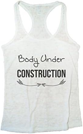 Womens Body Under Construction Racerback Vest