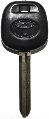 Solara Key (SELECT TOYOTA REPLACEMENT UNCUT TRANSPONDER 4D CHIP CAR IGNITION KEY)