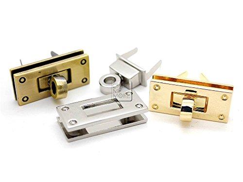 Gold Polished Lock (CRAFTMEmore 1pc 1-3/8