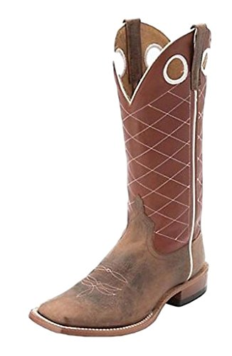 pper Cow Western Boot Square Toe Toast 9.5 D(M) US ()