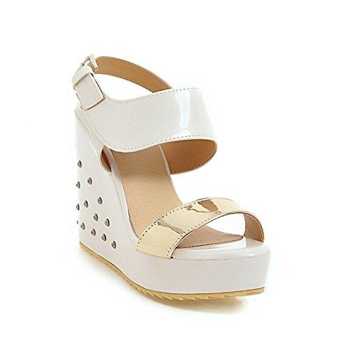Zapatos Zhznvx Sandalias 50De Mujer Polipiel Descuento Verano j4R5LA