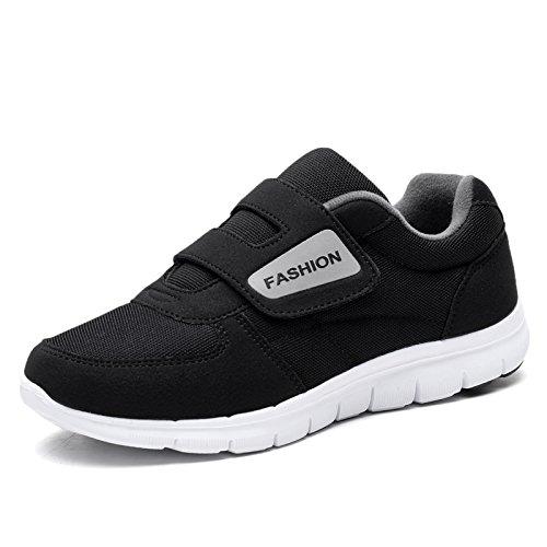 di età traspiranti scarpe estate Primavera leggere mezza fondo femminile madre sportive ed morbido scarpe black Hasag comode antiscivolo 6wxavn68