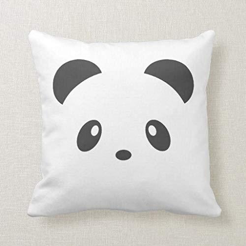 CELYCASY - Funda de cojín Decorativa con diseño de Panda ...