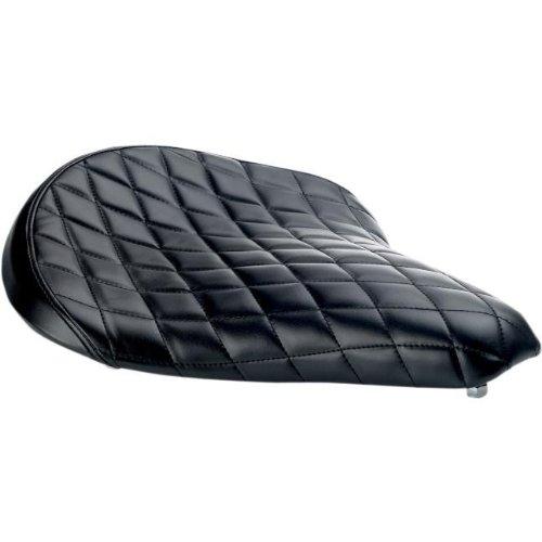 Biltwell Inc. Solo Seat - Diamond - Black SS-VIN-00-BD