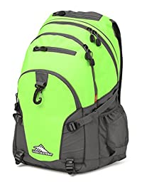 High Sierra 53646-4962 Loop Backpack, Lime/Slate, International Carry-On