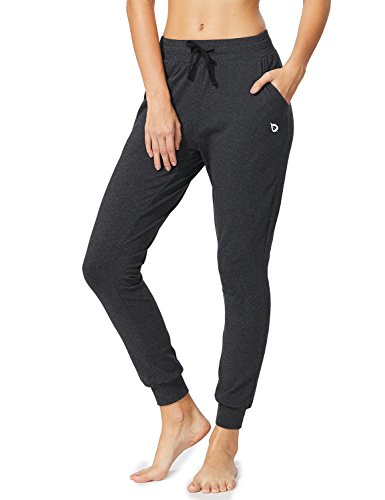 e Yoga Lounge Sweat Pants with Pockets Charcoal Size S ()
