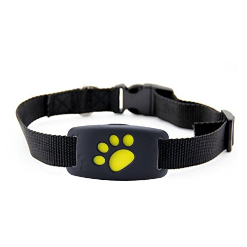 Pet Dog Tracker GPS Locator,Smart Wireless WIFI Bluetooth 4.0 Tracer for iOS System and Android System