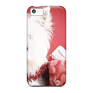 Hot SWf34083jvnR Cases Covers Protector For Iphone 5c- Dog With Gifts