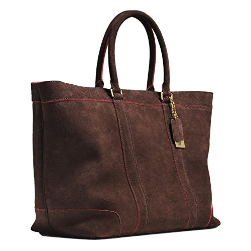 Coach Suede Tote Bags - 8