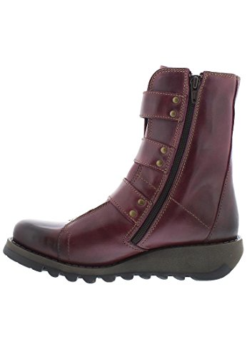 FLY London - botas estilo motero Mujer Purple