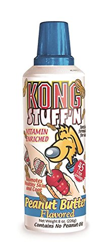 KONG Stuff'N Easy Treat, 8-Ounce, Peanut Butter