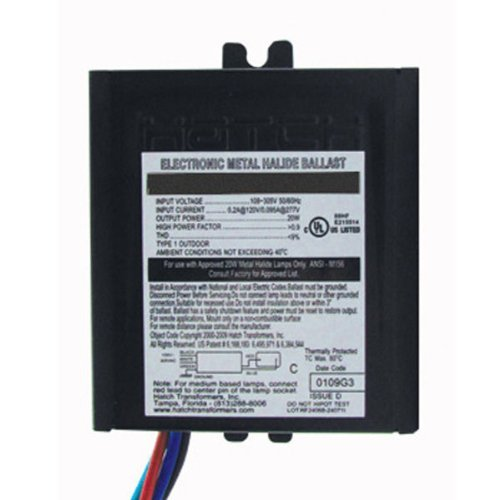 70w Electronic Ballast - Hatch MC70-1-F-UNNU - 70 Watt - 120/277 Volt - Electronic Metal Halide Ballast - ANSI M98/M139/M143 - Side Leads With Mounting Feet, Model: MC70-1-F-UNNU , Home & Outdoor Store