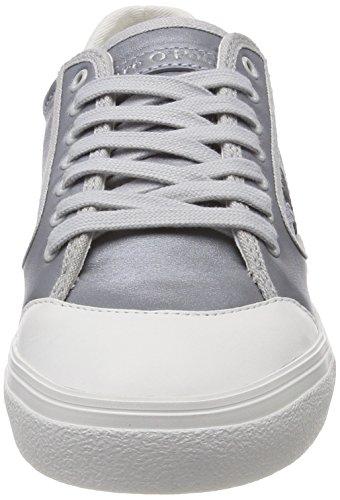 grey O'polo Marc silver Sneaker Baskets Grau Femme aHXwCxXqO