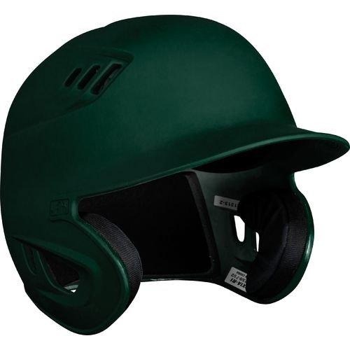 Rawlings 80 MPH Matte Alpha Sized Batting Helmet, Green, Small by Rawlings