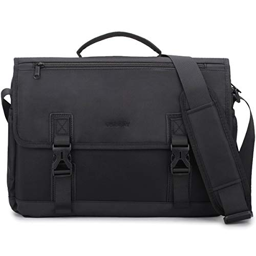 Messenger Bag For Men,14in Laptop Briefcase Satchel Water Resistant Lightweight Shoulder Bag