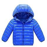 Yalasga Kids Baby Girl Boy Autumn Winter Warm Hooded Down...