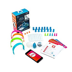 Sphero Mini Activity Kit: App-Controlled Robotic Ball and 55 Piece STEM Learning Construction Set, Play, Learn, Code, Ages 5 and up