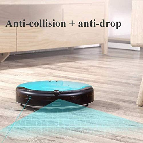FENGTING Nettoyage Ultra-Mince Robot d\'aspiration Bouche + Rouleau Brosse Type aspirateur avec Anti-Collision Anti-CAPT.Chute