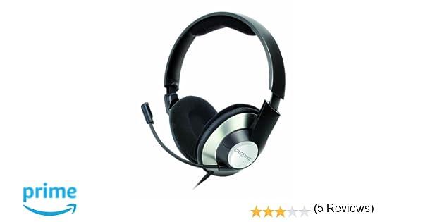 Creative 51EF0390AA002 - Auriculares de diadema cerrados con micrófono: CREATIVE: Amazon.es: Electrónica
