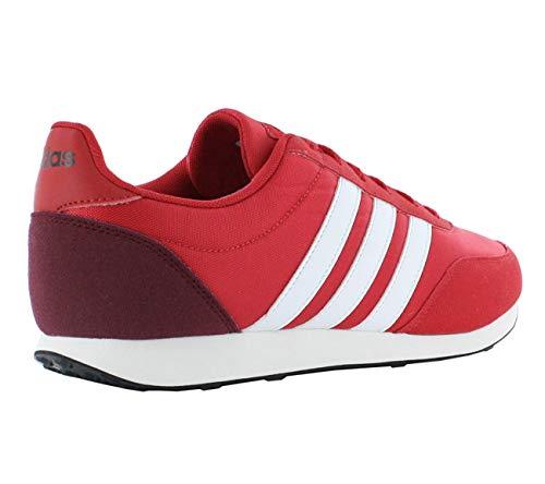 0 footwear Scarlet White Schuhe V collegiate 2 Burgundy Adidas Racer RZwxI