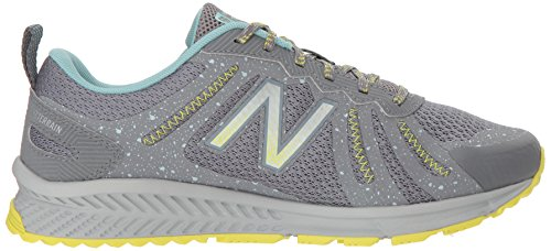 New Balance Women's 590v4 FuelCore Trail Running Shoe, Gunmetal, 5.5 D US by New Balance (Image #7)
