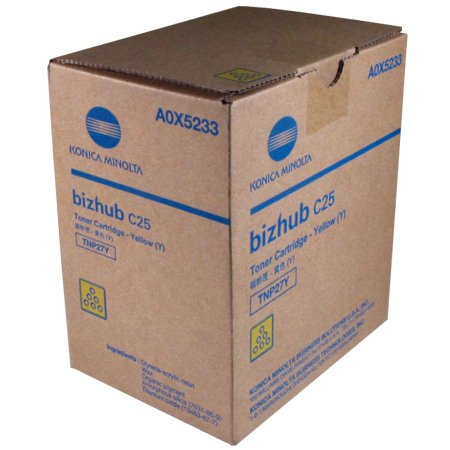 Price comparison product image Konica Minolta BizHub C25 Yellow Toner Cartridge (OEM) - 6,000 Pages