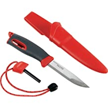 Light My Fire Swedish FireKnife with 9.5 cm (3.75 Inch) Sandvik Stainless Steel Blade and Swedish FireSteel Fire Starter