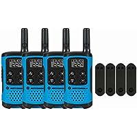 Motorola T100 Two-Way Radios / Walkie Talkies 4-PACK