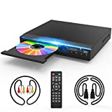 DVD Player for TV, DVD CD Player with HD 1080p