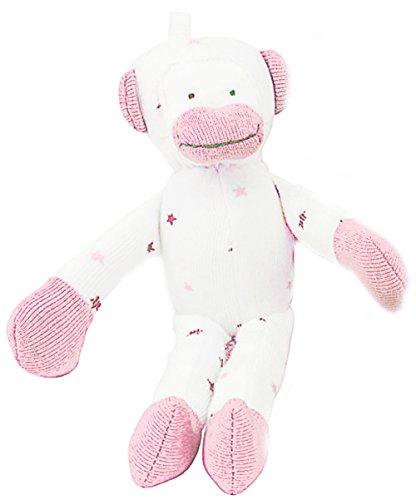 Nile Organic Bear - Under the Nile Baby Toy Scrappy Monkey Stuffed Animal 7