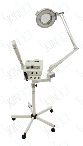 Ozone Steamer, 5 Diopter Magnifying Lamp & High Frequency By Skin Act by SkinAct