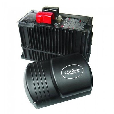 Outback GVFX3524 Inverter 3500 W, 24 V, Grid-Tie Pure Sine Wave, (Outback Grid Tie Inverters)